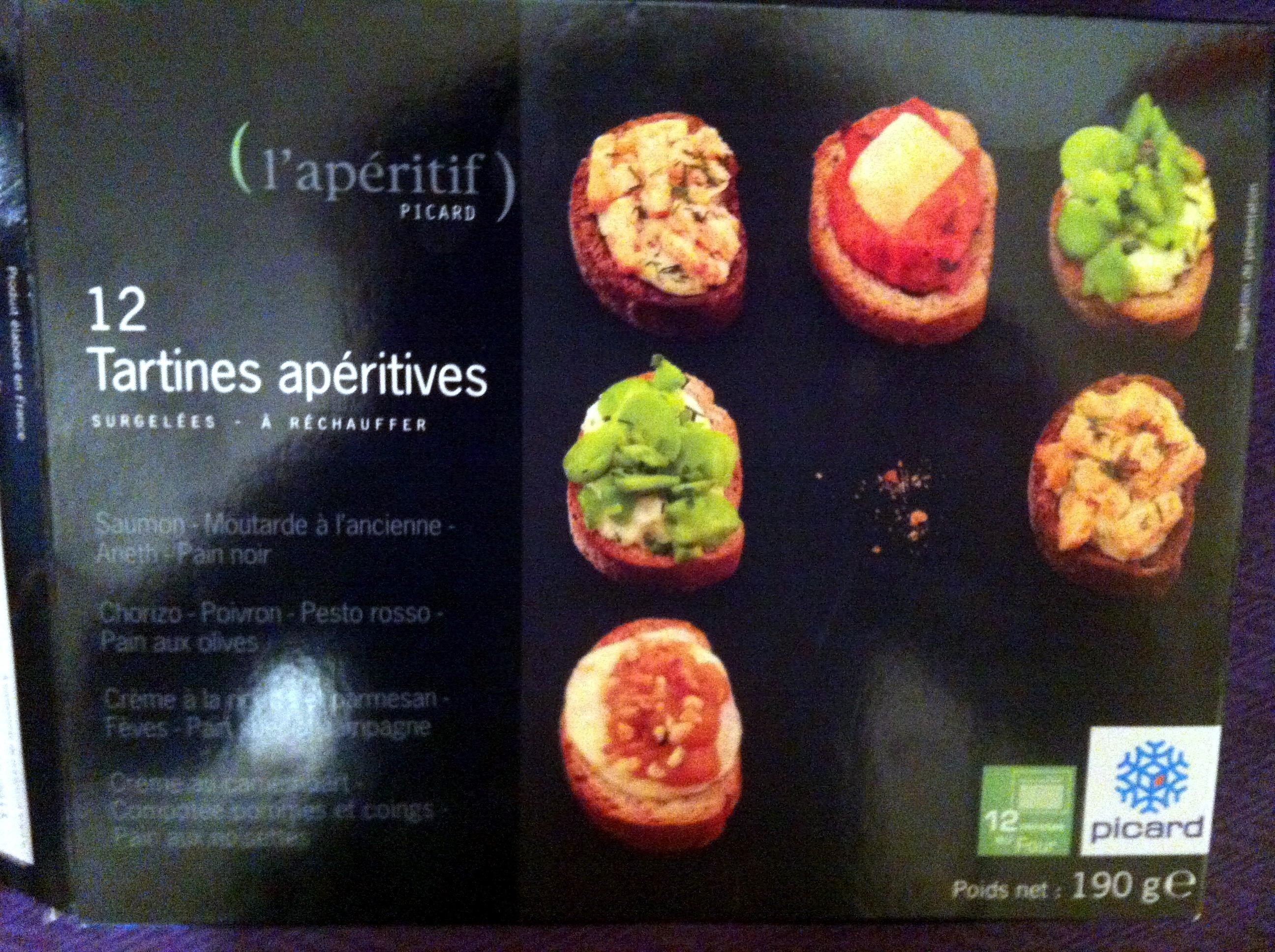 12 Tartines apéritives - Product