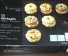 12 Mini-bagels - surgelés 185 g - Product