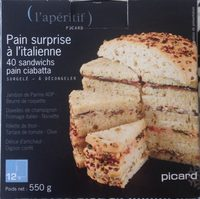 Pain surprise à l'italienne - Product
