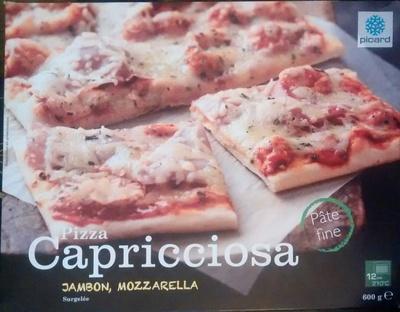 Pizza Capricciosa (Jambon, Mozzarella), Surgelée - Produit