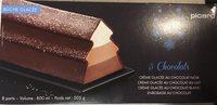 Bûche 3 Chocolats - Produit - fr