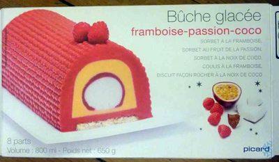 b che glac e framboise passion coco picard 800 ml 650. Black Bedroom Furniture Sets. Home Design Ideas
