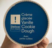 Crème Glacée Vanille-Cookie Dough - Product