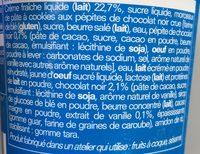 Crème Glacée Vanille-Cookie Dough - Ingredients