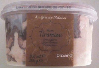 Les Glaces à l'Italienne - Tiramisu - Produit