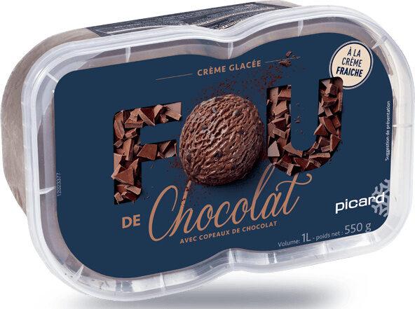 Crème Glacée de Chocolat - Product - fr