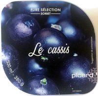Pure Sélection Sorbet Le Cassis - Product
