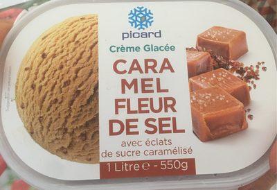 Crème glacee caramel fleur de sel - Producto