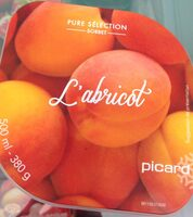 Sorbet abricot - Product - fr