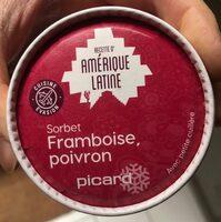 Sorbet framboise poivron - Product - fr