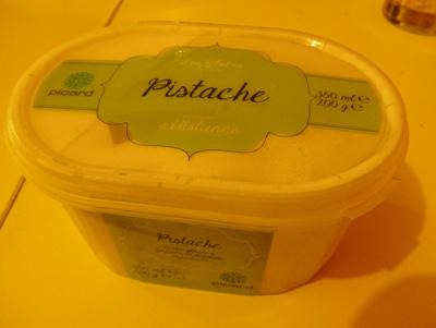 Glace à l'italienne - pistache - Produit