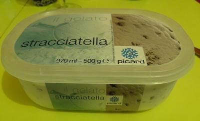 il gelato stracciatella Picard - Produit - fr