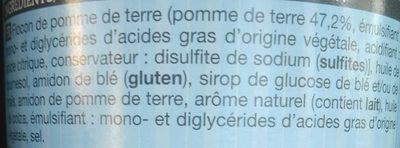 Tuiles Crème Oignons - Ingrédients - fr