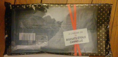 Biscuits Etoile Cannelle - Produit - fr
