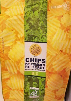 Chips de pommes de terre BIO au sel de guérande - Product