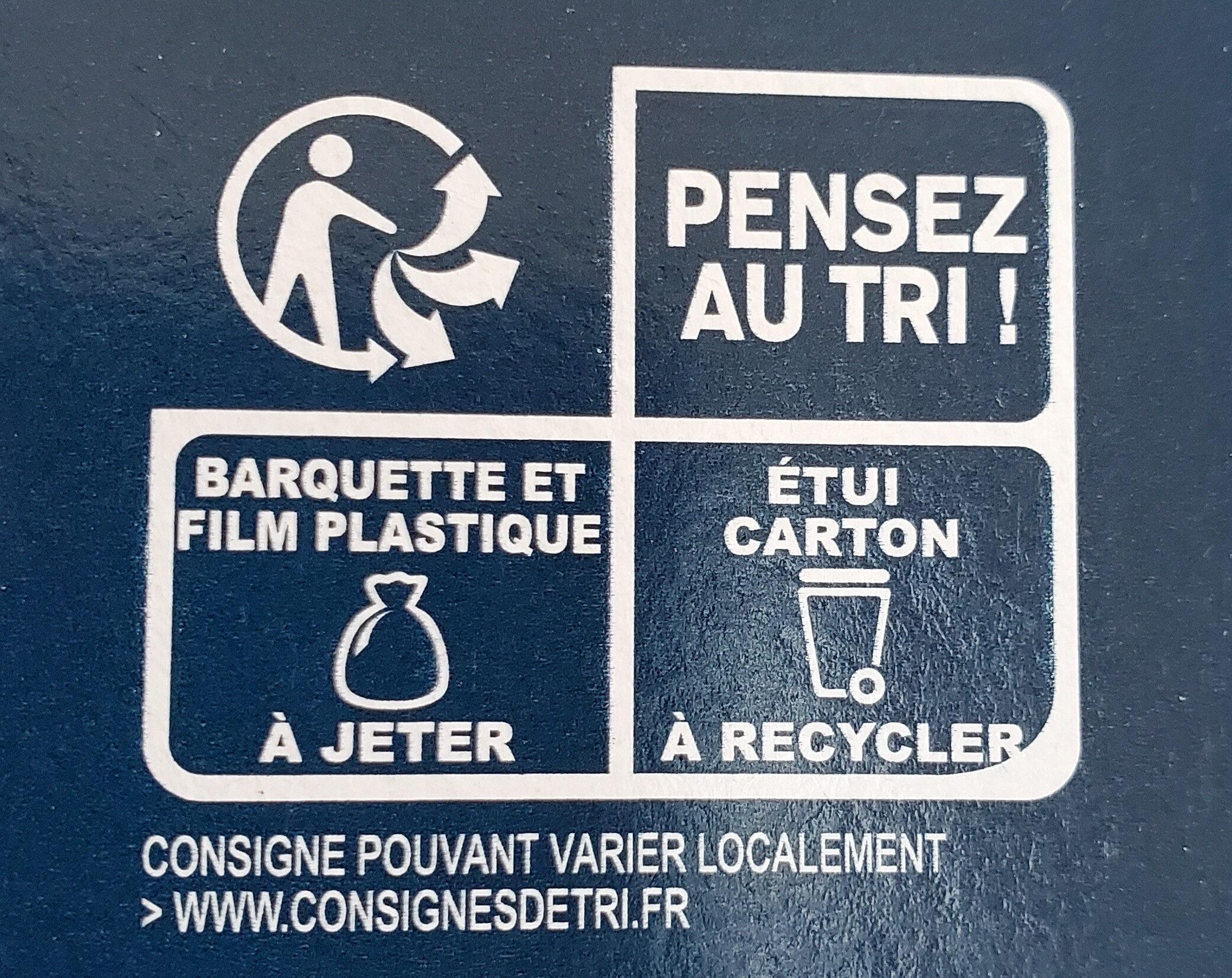Palmiers Pur Beurre - Recyclinginstructies en / of verpakkingsinformatie - fr
