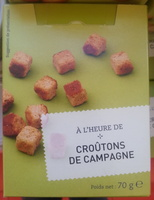 Croûtons de campagne - Product