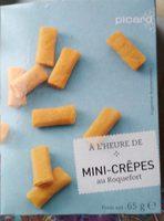 Mini-crêpes au Roquefort - Produit