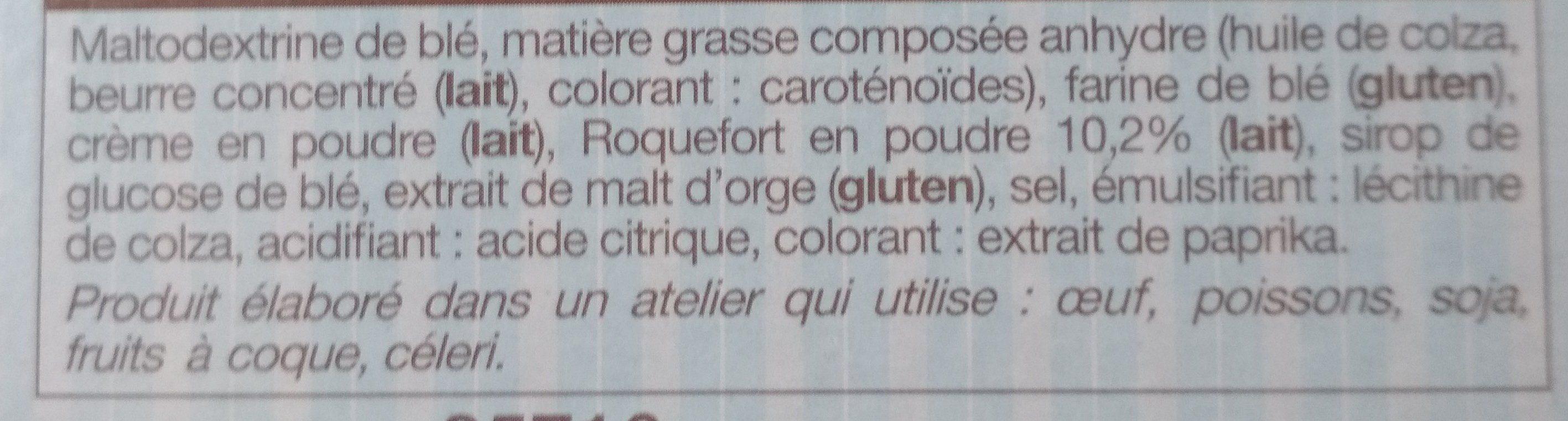 Mini-crêpes au Roquefort - Ingrédients