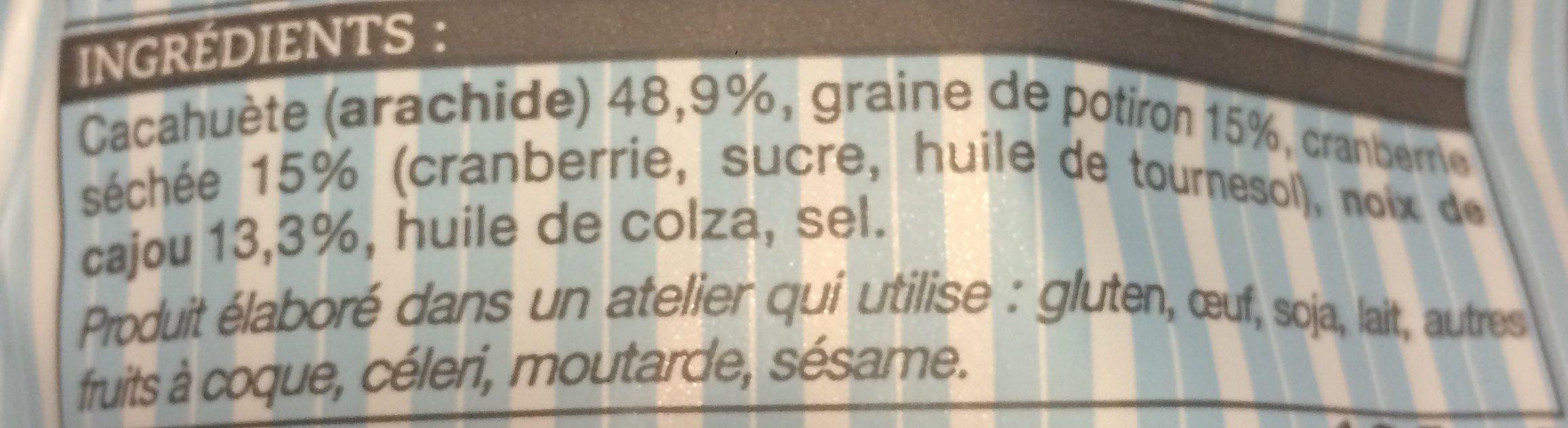 Mix Aperitif - Ingrediënten - fr