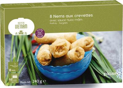 Nems aux crevettes avec sauce nuoc mâm - Prodotto - fr