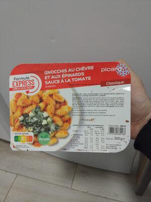 Gnocchis au chèvre et aux épinards - Produit - fr