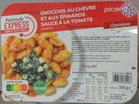 Gnocchis au chèvre et aux épinards sauce tomate - Product - fr