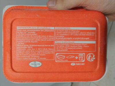Gnocchis au chèvre et aux épinards sauce tomate - Recyclinginstructies en / of verpakkingsinformatie - fr
