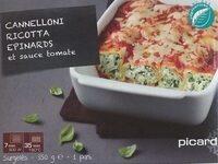 Cannelloni ricotta épinard et sauce tomate - Product - fr