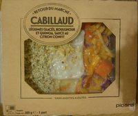 Cabillaud Légumes Glacés, Boulghour et Quinoa, Sauce au Citron Confit - Product