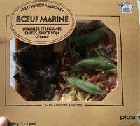 Bœuf Mariné, Nouilles et Légumes Sautés - Product - fr