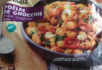 Poêlée de gnocchis (tomates, mozzarella) - Prodotto - fr