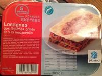 Lasagnes aux légumes grillés et à la mozzarella, Surgelées - Produkt - fr