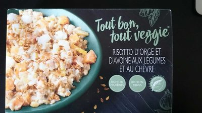 Risotto d'Orge et d'Avoine aux Légumes et au Chèvre - Product
