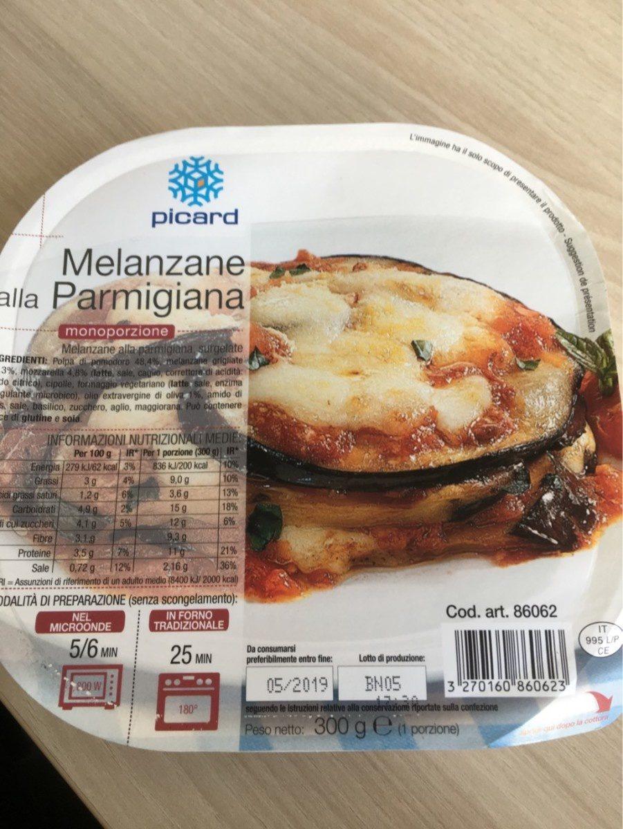 Melanzane alla Parmigiana - Produit - fr