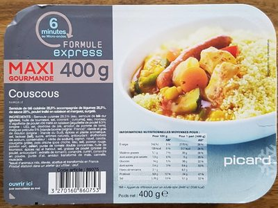 Couscous 400 g - Product - fr