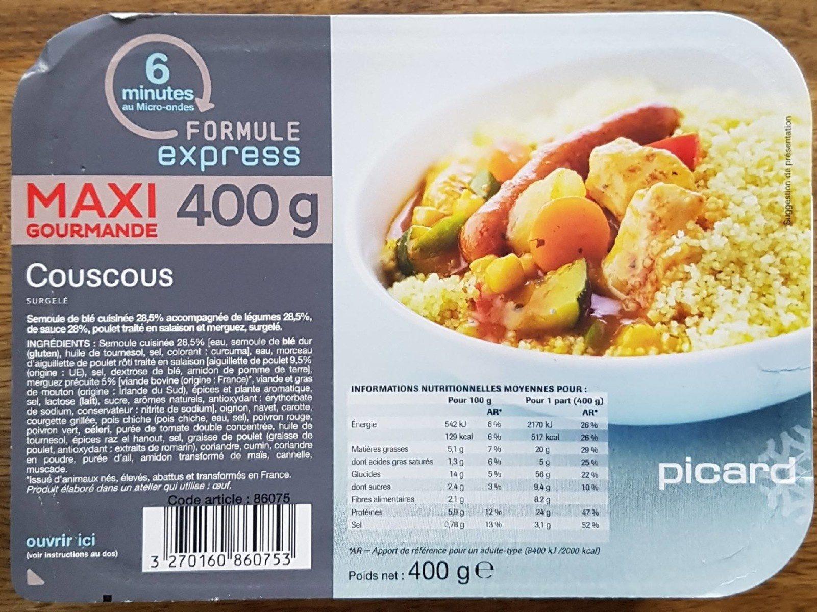 Couscous 400 g - Produit