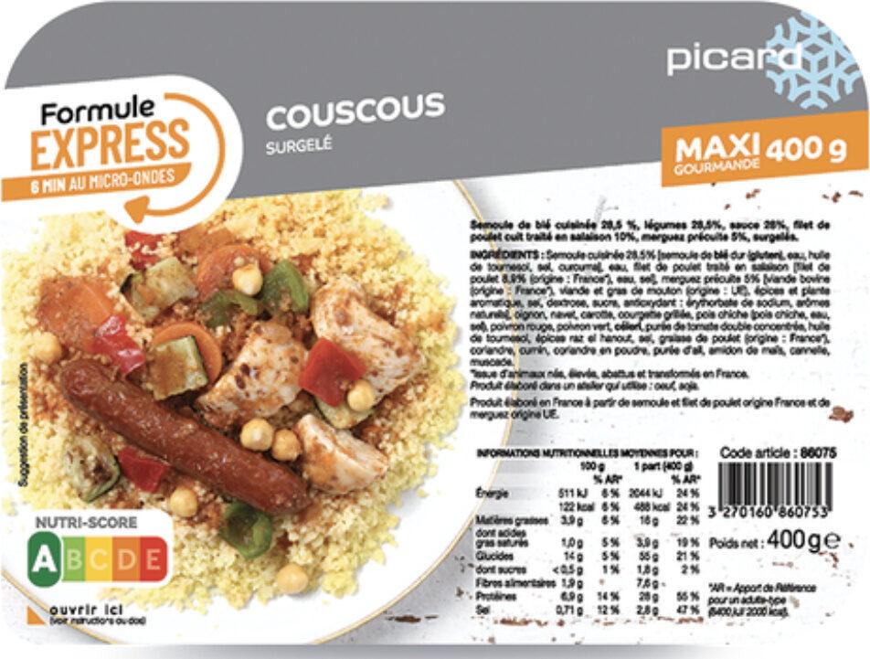 Couscous 400 g - Prodotto - fr
