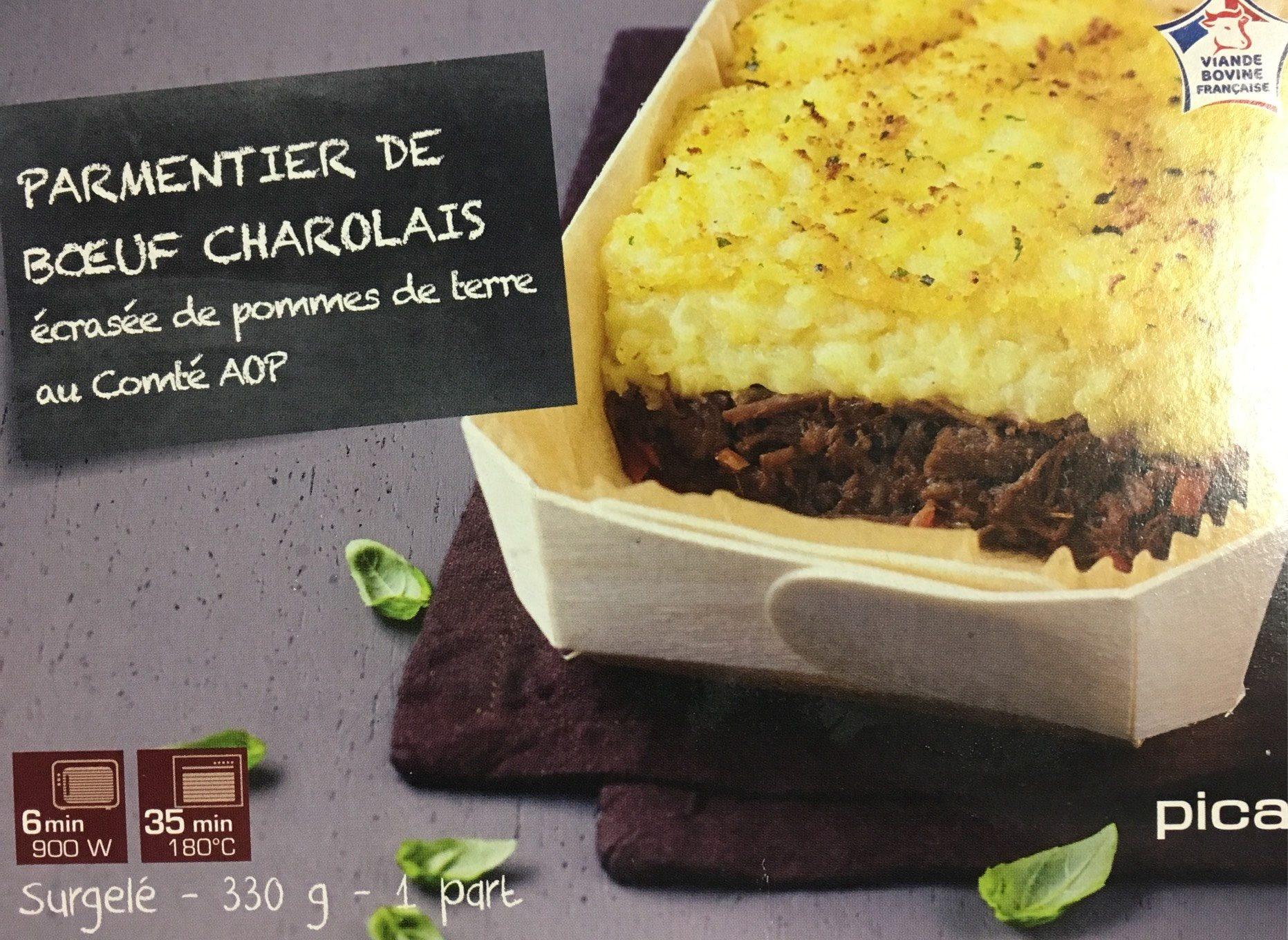 Parmentier de Bœuf Charolais, écrasée de pommes de terre au Comté AOP - Produit - fr