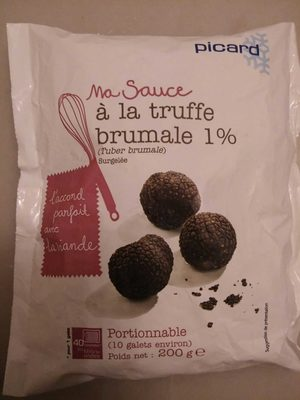 Ma sauce à la truffe brumale 1 % - Produit - fr