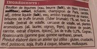 Ma sauce à la truffe brumale 1 % - Ingrédients - fr