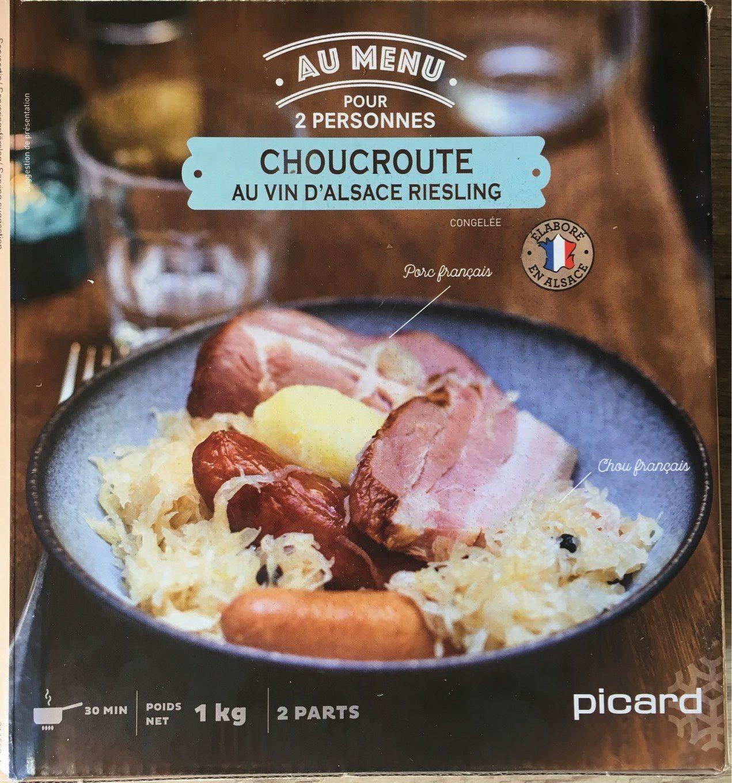Choucroute au vin d'Alsace Riesling - Product