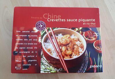 Crevettes sauce piquante et riz thaï - Product