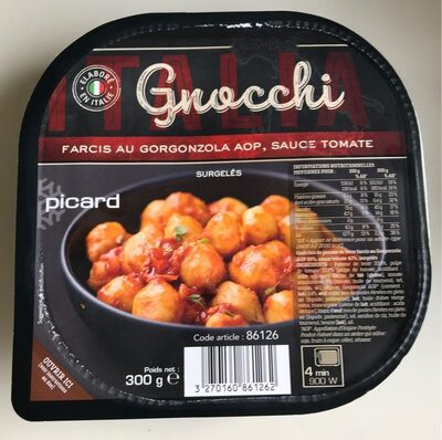 Gnocchi Farcis au Gorgonzola AOP et sauce Tomate - Prodotto - fr