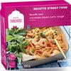 Noodle Box - Crevette sauce curry rouge - Produit