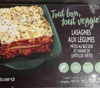 Lasagnes aux légumes - Prodotto - fr