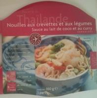 Recette de Thaïlande Nouilles aux crevettes et aux légumes - Product - fr