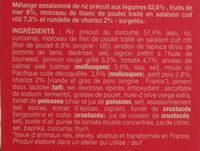 Paëlla formule express - Ingrédients