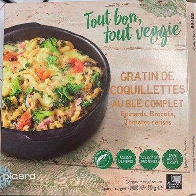 Gratin de coquilettes au blé complet - Product - fr