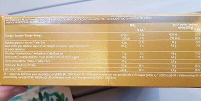 Japchae au poulet - Informations nutritionnelles - fr